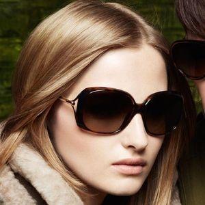 Burberry Havana Tortoise Polarized Sunglasses